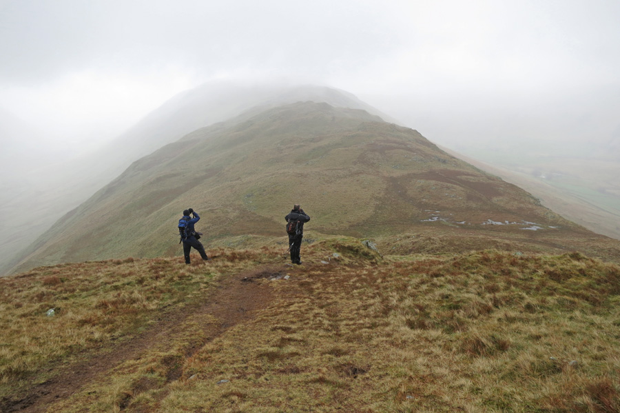 Photographing Beda Fell