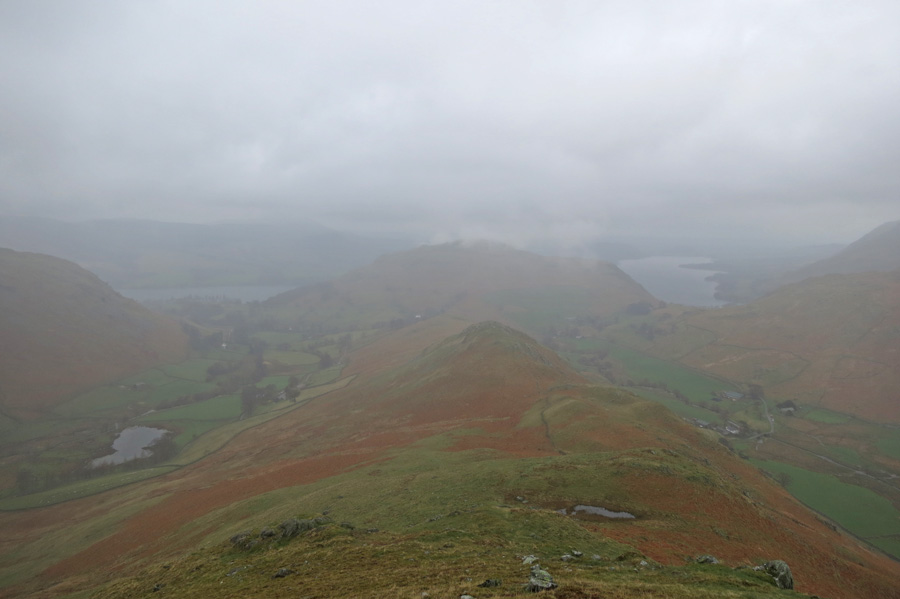 Winter Crag with Hallin Fell beyond