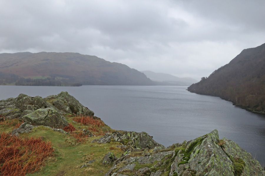 Looking down Ullswater from Silver Point