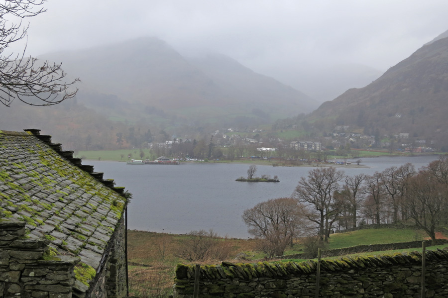 Looking across to Glenridding