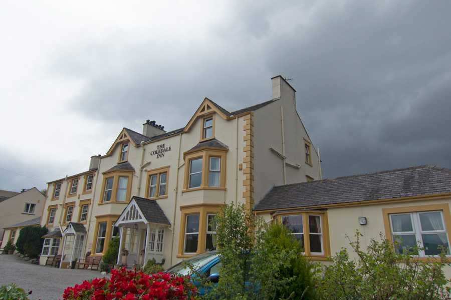 The Coledale Inn, time for a pint and lunch