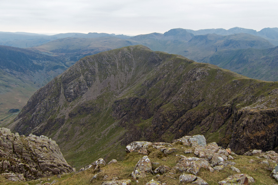 Looking across to High Crag