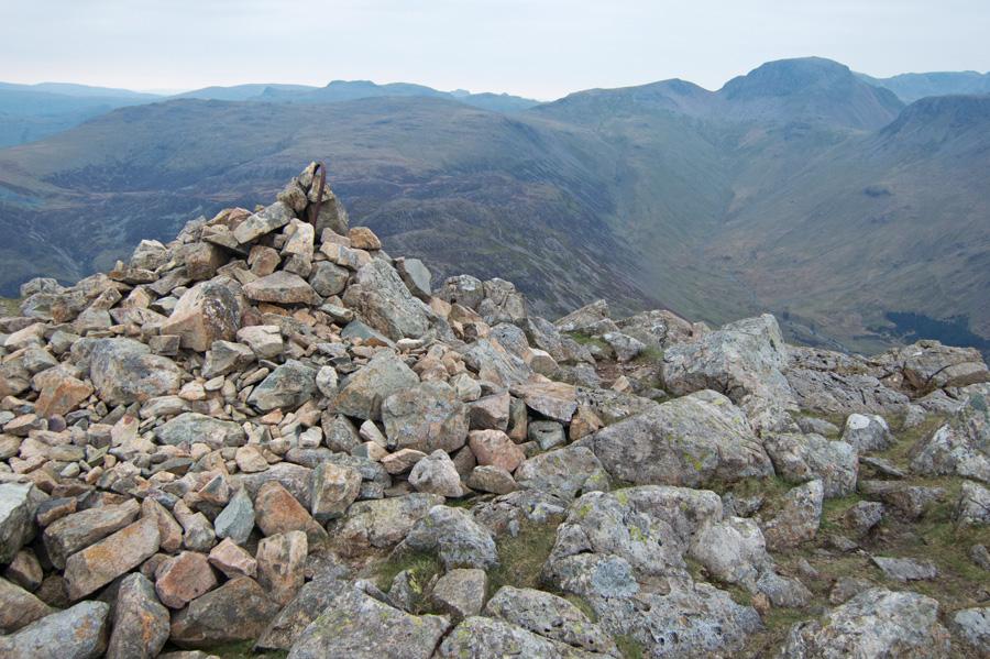High Crag's summit