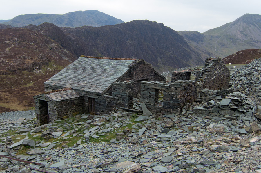 Dubs Hut, a mountain bothy, contact Honister Slate Mine to book