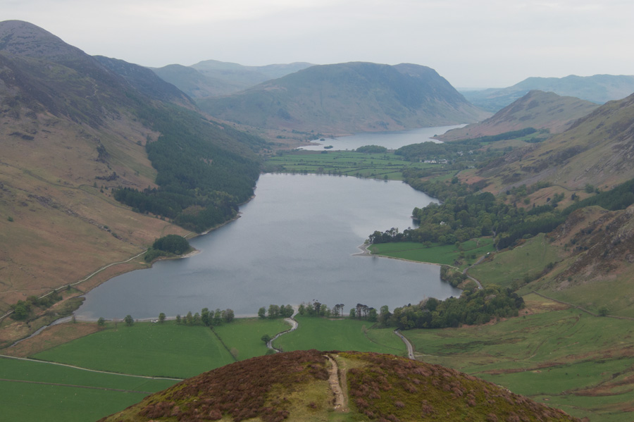 Buttermere from the ridge