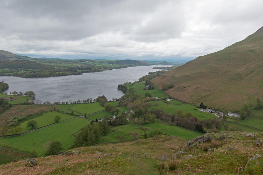 Ullswater and Howtown from Steel End