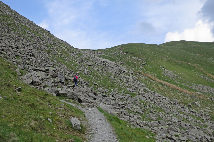 Approaching Grisedale Hause