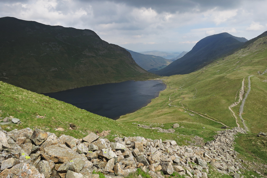 Dollywaggon Pike, Grisedale Tarn and St Sunday Crag