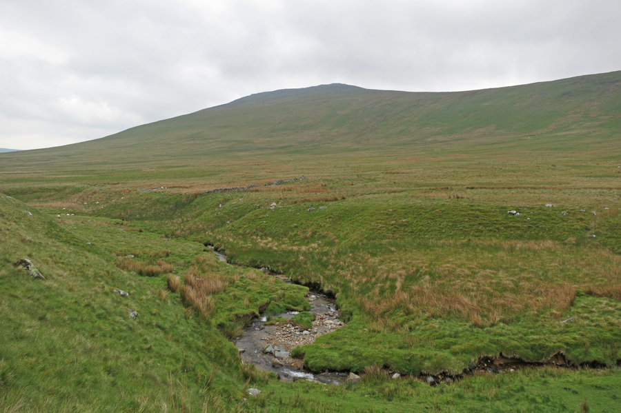 Over Carrock Beck to Carrock Fell