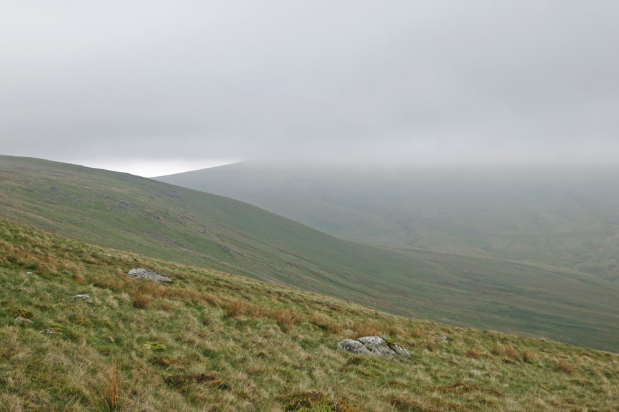 High Pike in cloud