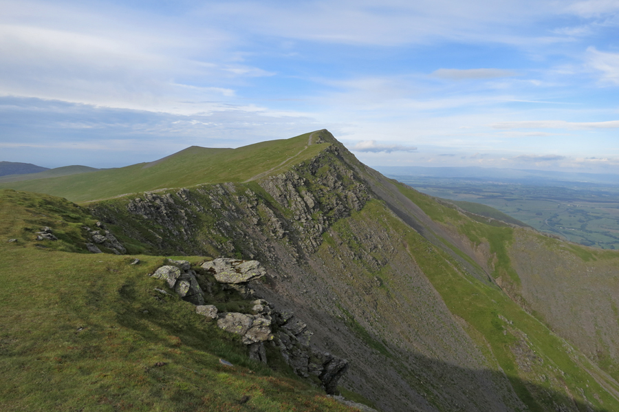 Gategill Fell Top from Knowe Crags