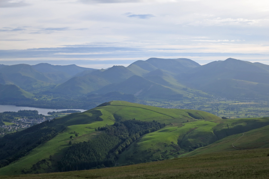 Latrigg with the north western fells behind