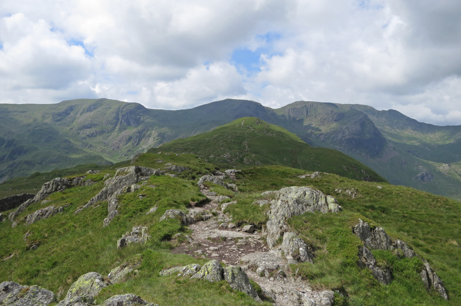 The ridge ahead from Gale Crag