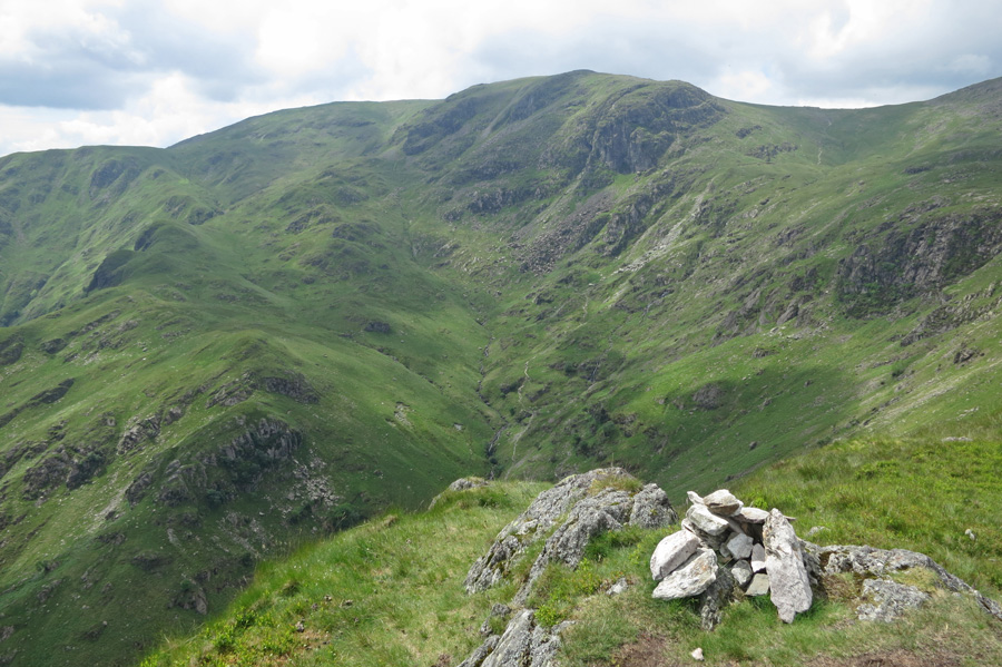 Dove Crag from Hartsop Above How's summit