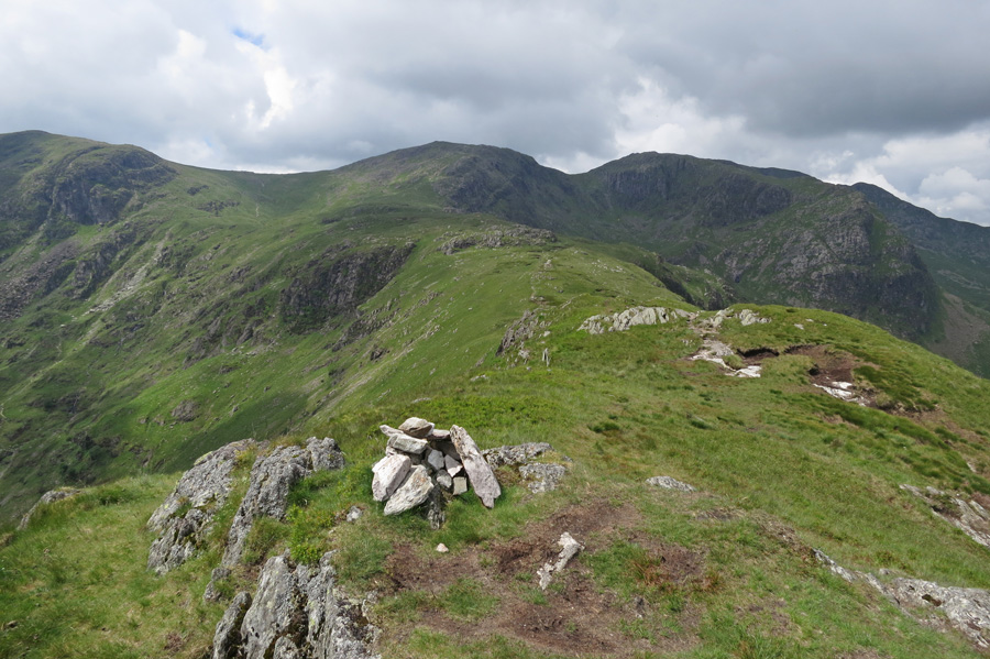 Hart Crag from Hartsop Above How's summit