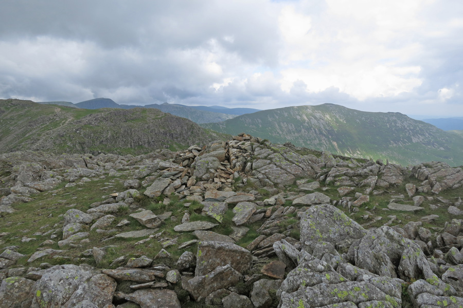 St Sunday Crag from Hart Crag's northern cairn