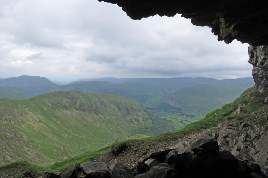Hartsop Above How from the Priest's Hole