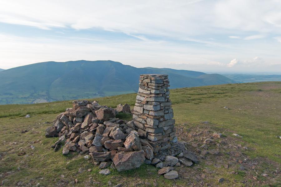 Clough Head summit trig point