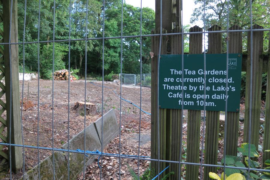 Keswick's Lakeside Tea Gardens - RIP