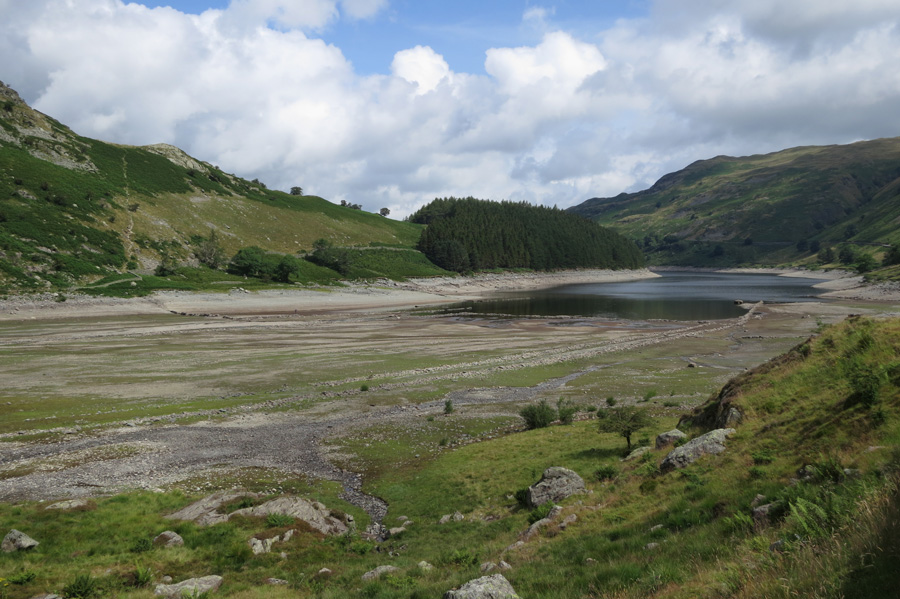 Mardale Head, the tide is out