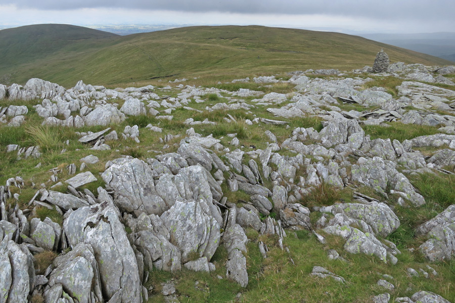 ...and the lower, looking across to High Howes with Selside Pike on the far left