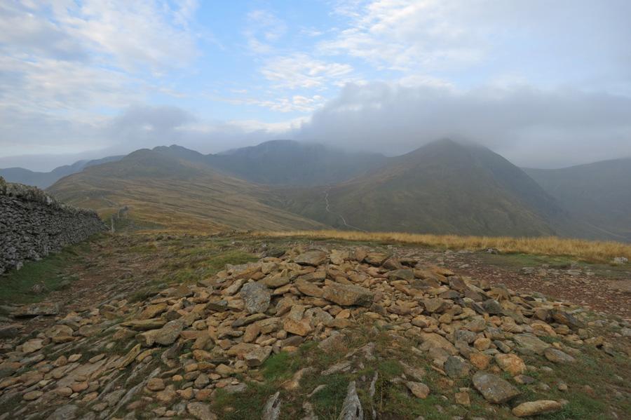 Helvellyn from Birkhouse Moor's summit