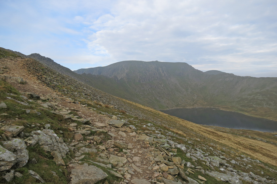 Heading up on to Striding Edge