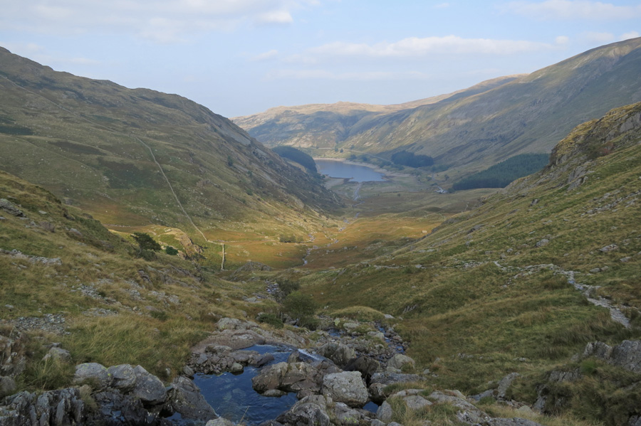 Looking back down on Mardale Head as I head for Small Water