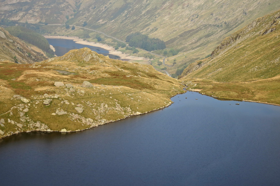 Small Water with Haweswater far below