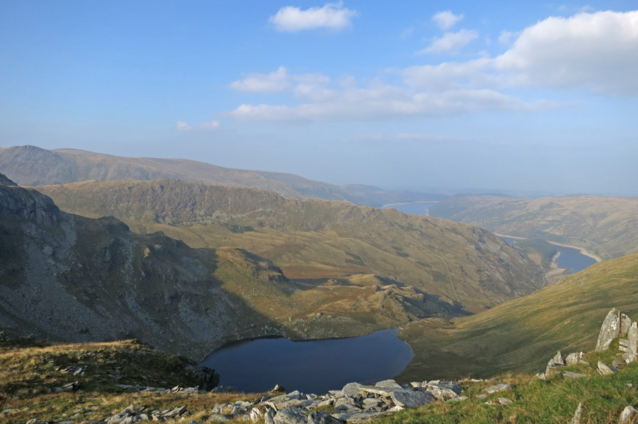 Looking over Small Water to Rough Crag