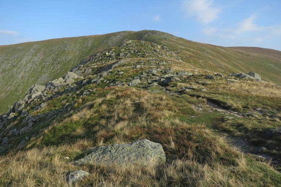 The ridge up Harter Fell