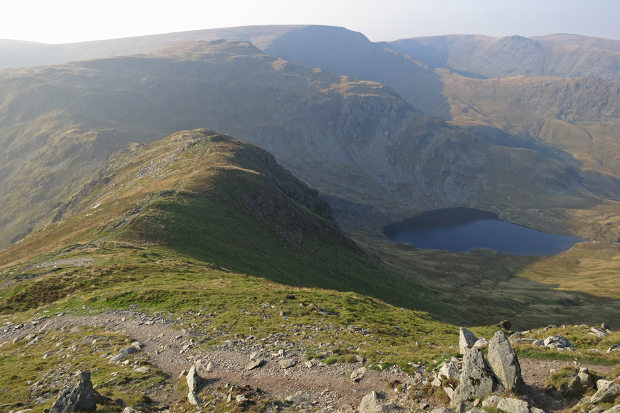 ...and looking back with High Street beyond Mardale Ill Bell