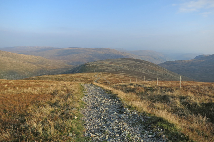 Heading for Adam Seat and Gatescarth Pass