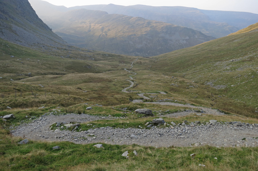 Heading back down to Mardale Head