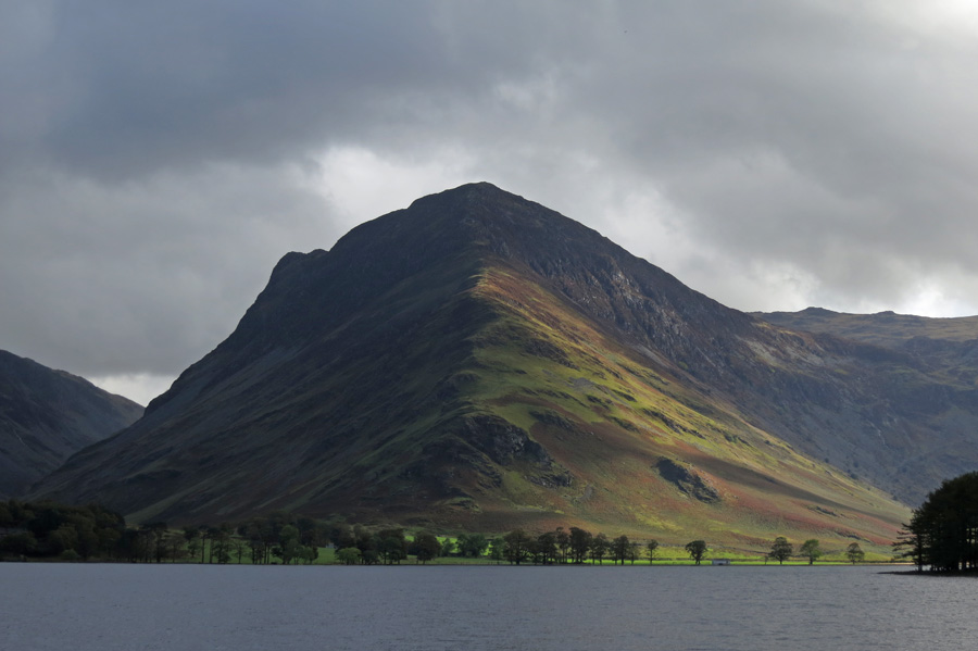 Fleetwith Pike at the head of Buttermere