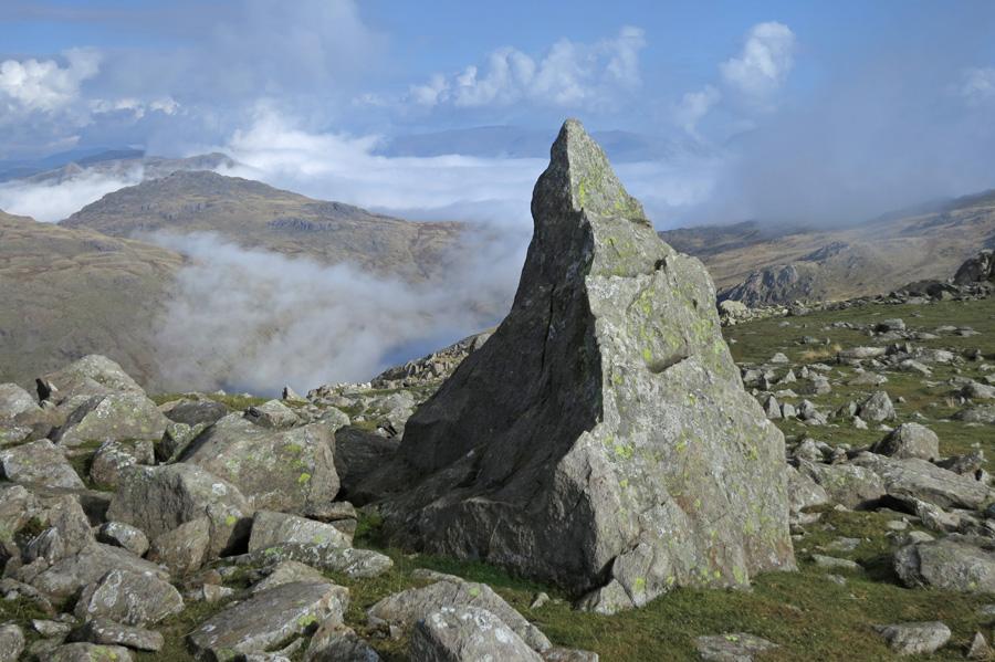 The 'Matterhorn Rock' on Grey Friar