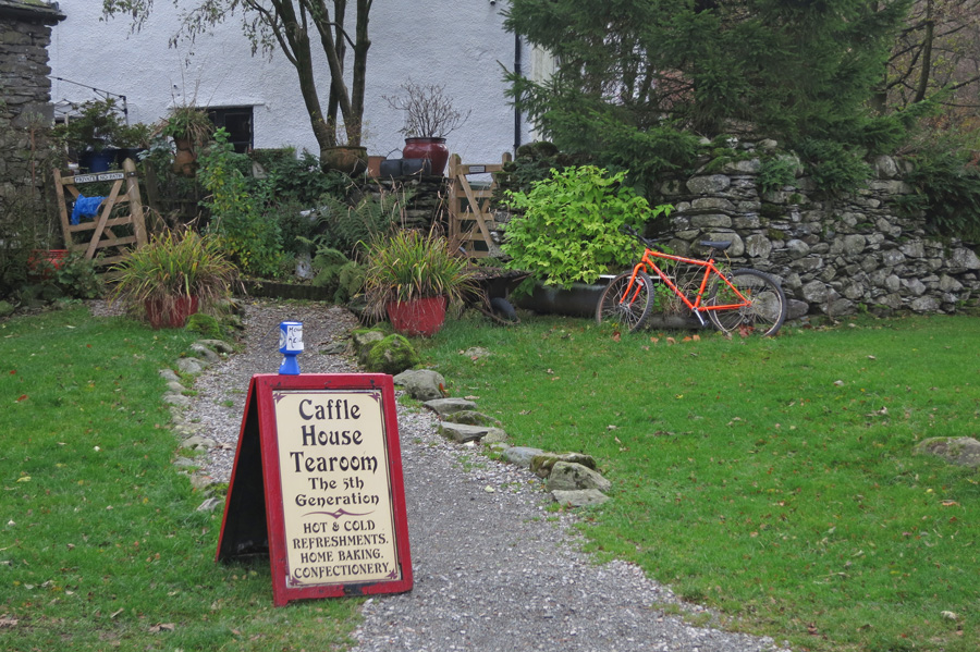 Caffle House Tearoom at Watendlath