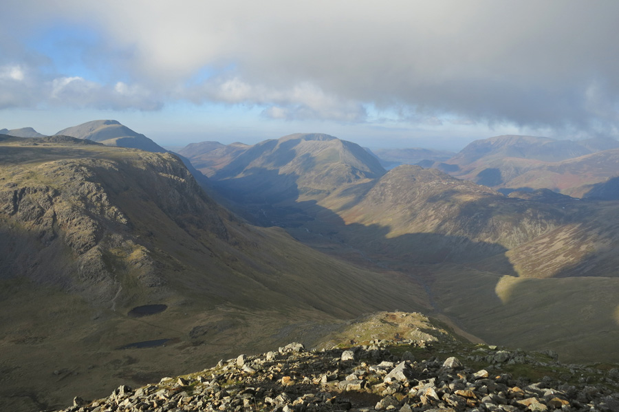 Ennerdale from my ascent of Great Gable