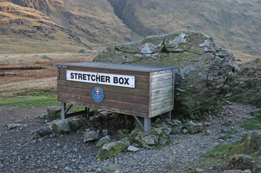 Sty Head stretcher box