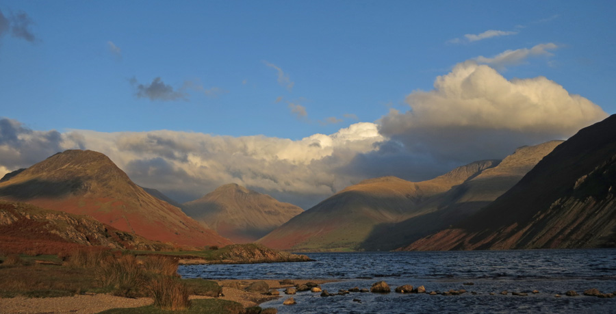 The Wasdale Head fells from Wastwater
