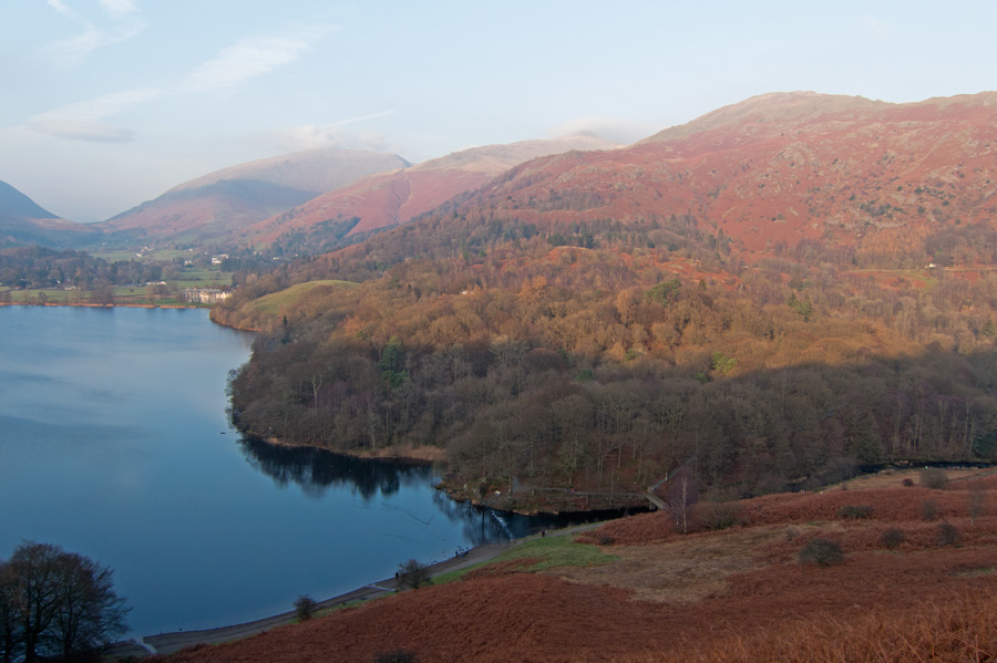 View from Loughrigg Terrace