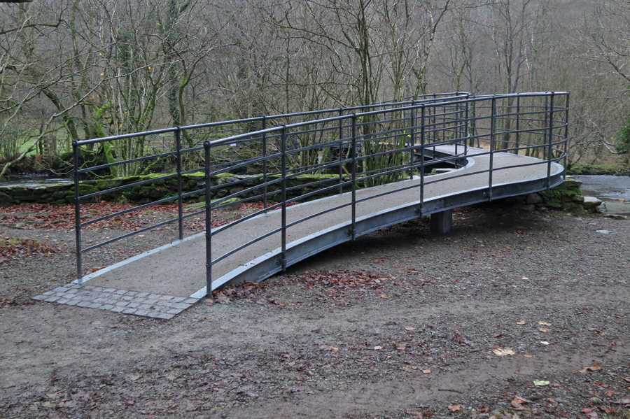 The new bridge at White Moss Common, you guessed it, I preferred the old one!