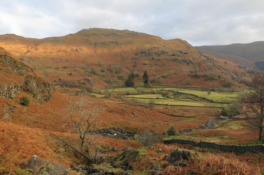 Looking across to Helm Crag