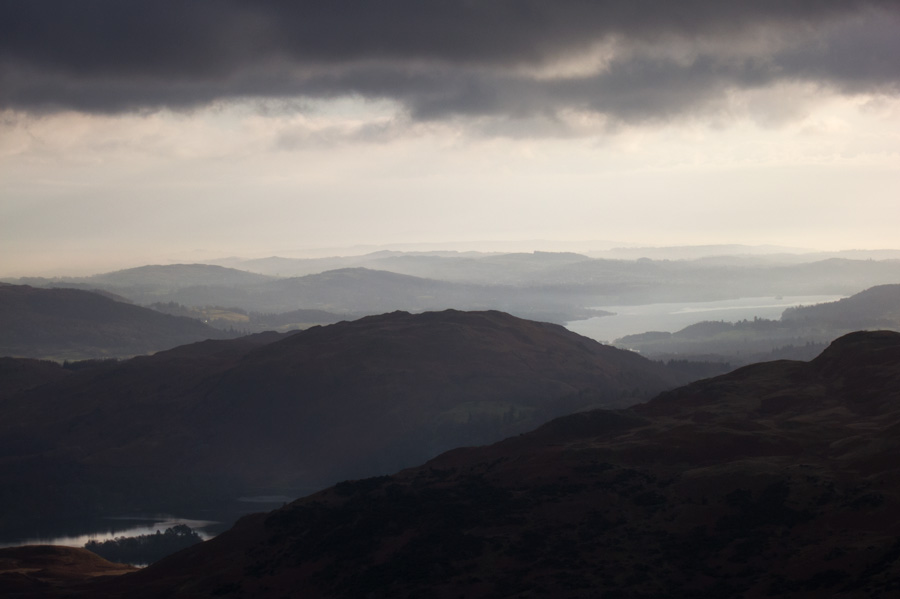 South towards Windermere