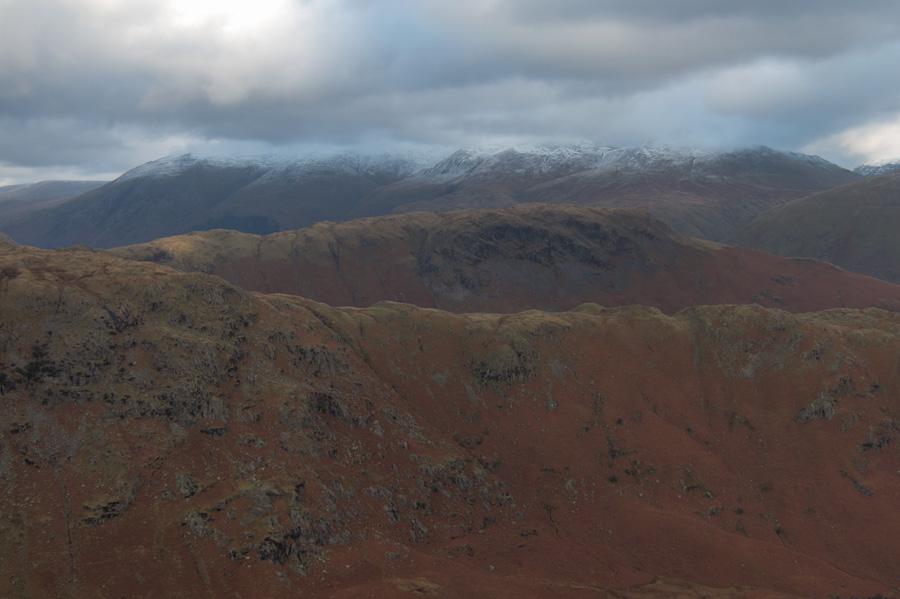 Looking towards the Helvellyn ridge