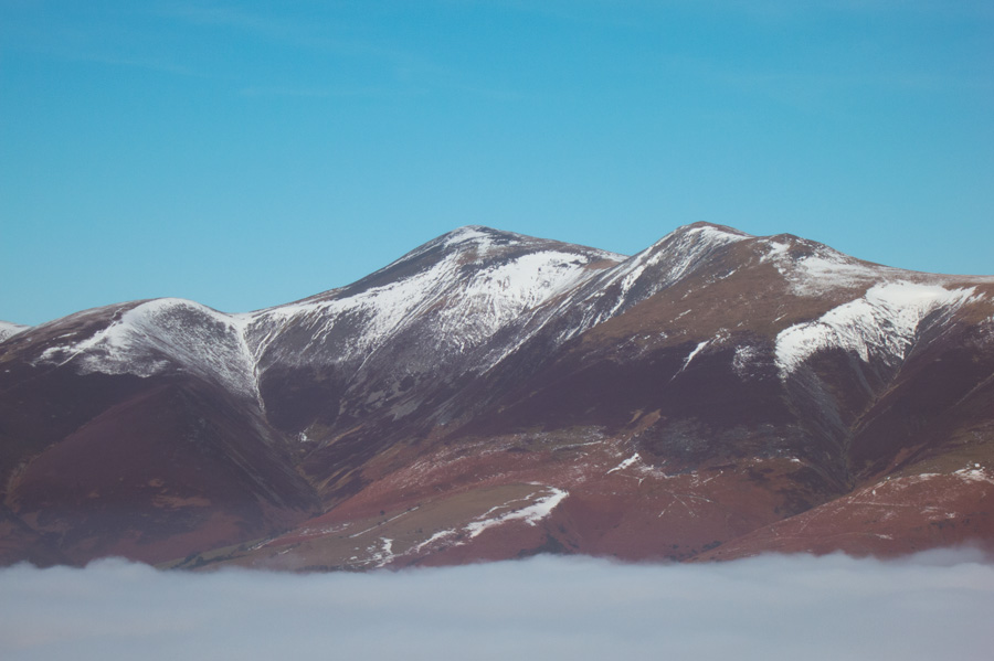 Zooming in on Skiddaw