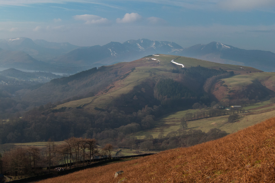 Latrigg from our ascent of Blease Fell