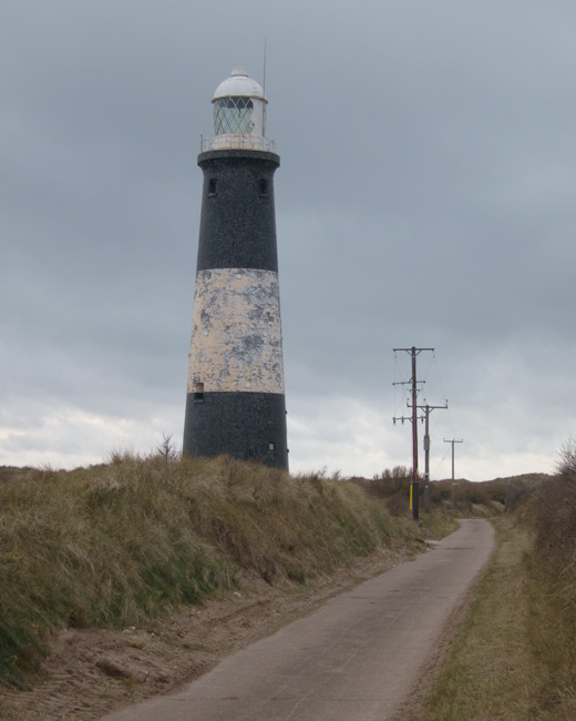 The new lighthouse, built in 1895 but deactivated in 1985