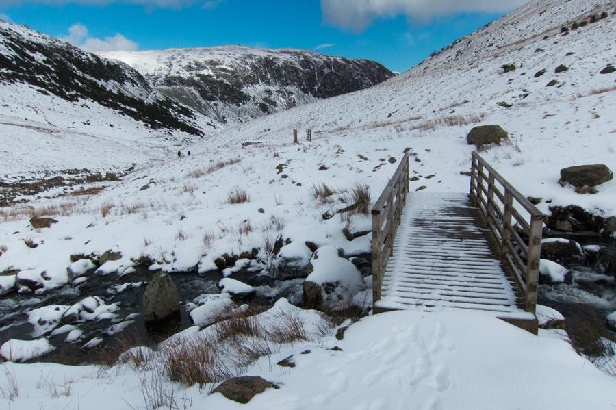 Bridge over Red Tarn Beck
