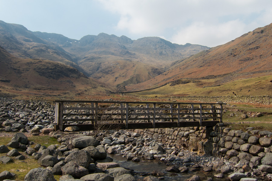 Bridge over Oxendale Beck